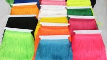 Renkli ve Simli Saçak